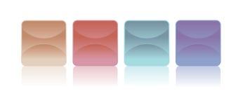 Stickers - Vectorbeeld Stock Afbeelding