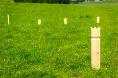 Stickey Sticks Game In Dyrehaven, Denmark Royalty Free Stock Image