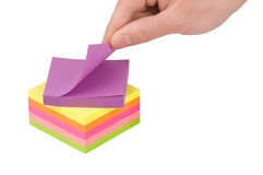 Stickies Stock Photo