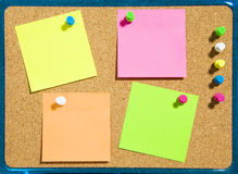 Stickies Royalty Free Stock Image
