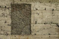 Stickiger alter Durchgang im Gebäude Lizenzfreie Stockfotos