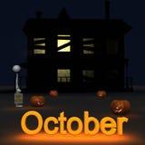 Stickman October Stock Image