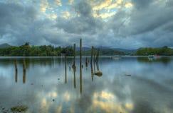 Sticks. Lake District, Sticks in Lake, UK Stock Photography