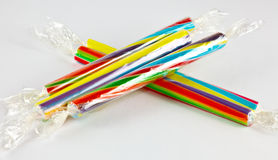 Sticks of candy Stock Photography