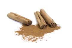 Sticks of Cinnamon Royalty Free Stock Image