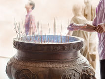 Sticks of incense Stock Image