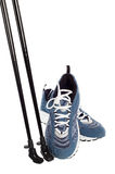 Sticks for Nordic walking and  sports shoes Stock Photo