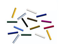 Sticks of pastel colored chalk Royalty Free Stock Photo