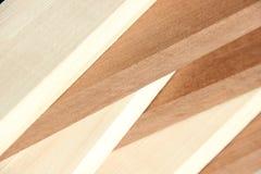 Sticks of precious wood. Sticks of valuable wood.amaranth and maple European Stock Photo