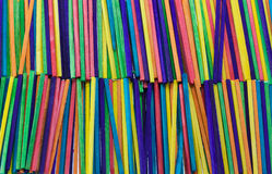 Sticks in stripes Stock Images