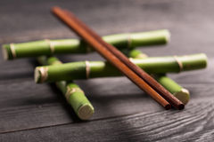 Sticks for sushi Stock Photography