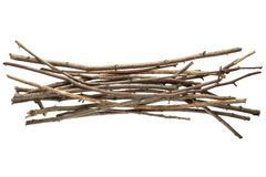 Sticks and twigs Royalty Free Stock Images
