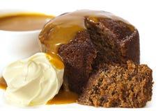 Sticky Date Pudding Royalty Free Stock Photo