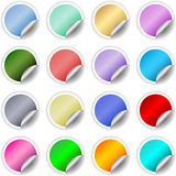Sticky labels Stock Images