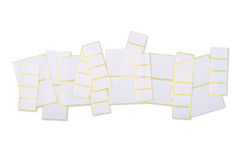 Sticky labels Stock Photo
