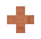 Sticky medical fabric plaster first-aid equipment Stock Photos