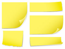 Sticky memo notes Royalty Free Stock Images