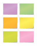 Sticky Message note. Colorful sticky Message note created in  format Royalty Free Stock Photos