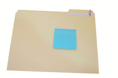 Sticky note Stock Image