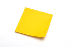 Sticky note stock photo