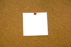 Sticky note blank Royalty Free Stock Photography