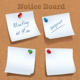 sticky note Stock Photo