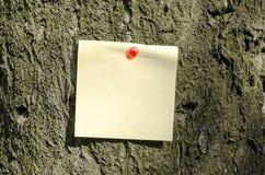 Sticky Note Royalty Free Stock Image