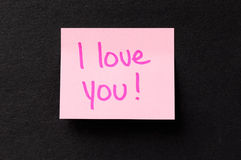 Sticky Note Message Royalty Free Stock Image