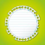 Sticky note pad Royalty Free Stock Photography