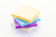 Sticky Note Pads Royalty Free Stock Photo