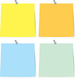 Sticky note paper Royalty Free Stock Photo