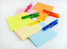 Sticky Note Paper Royalty Free Stock Photos