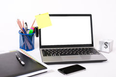 Sticky note paper Royalty Free Stock Photography