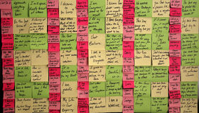 Sticky Note Salvation Stock Images