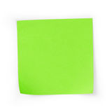 Sticky note square reminder Royalty Free Stock Photos