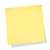 Sticky Note (without Tack) Stock Photos
