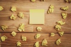 Sticky note Royalty Free Stock Photography