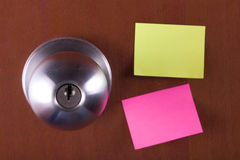 Sticky notes Royalty Free Stock Photo