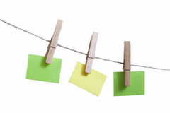 Sticky notes. Stock Images