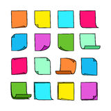 Sticky Notes Collection-01 Stock Photography