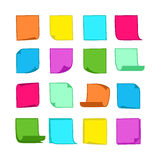 Sticky Notes Collection-05 Royalty Free Stock Photography