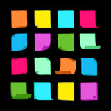 Sticky Notes Collection-06 Royalty Free Stock Image