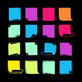 Sticky Notes Collection-08 Stock Image