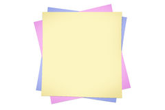 Post It Note Template | Creativity Concept Template With Post It Notes Stock Vector