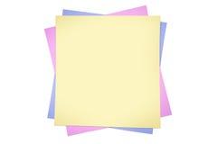 Sticky Notes Royalty Free Stock Photos