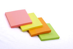 Sticky Notes Cube Royalty Free Stock Photography