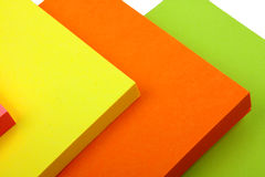 Sticky Notes Cube Stock Photography