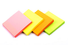 Sticky Notes Cube Royalty Free Stock Photo