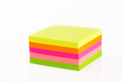 Sticky Notes Cube Stock Image
