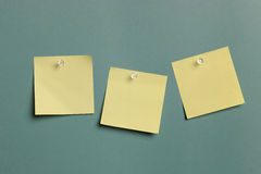 Sticky Notes isolated Royalty Free Stock Image